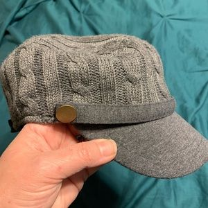 D&Y Gray Sweater Hat Brand New OSFM